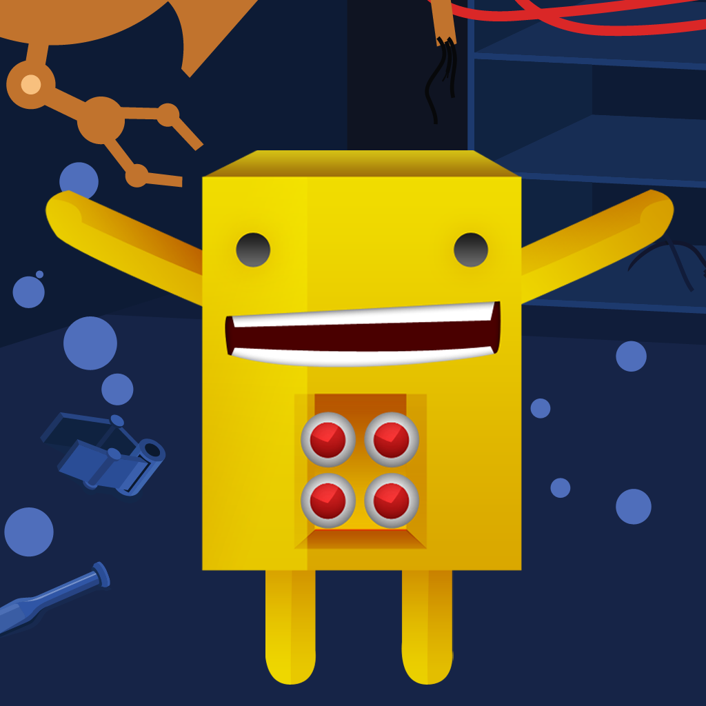 Action Robots – Create Your Own Robot Learning Game for Children